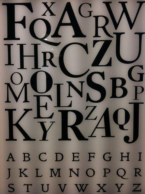 William Morris Alphabet