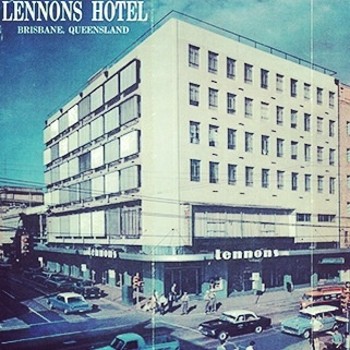 Chifley Lennons artwork - Celebrating 40 years of Lennons - Offer of $40 OFF your stay at the new Next Hotel Brisbane #Hotel #SilverNeedle