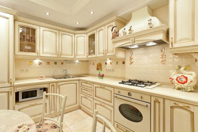 Кухня в стиле прованс: французский интерьер кухни - 12 фото дизайна ИнтерьерМаг.ру