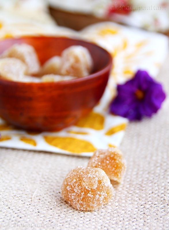 Akshayapaatram: Peach Jam spiced with Crystallized Ginger