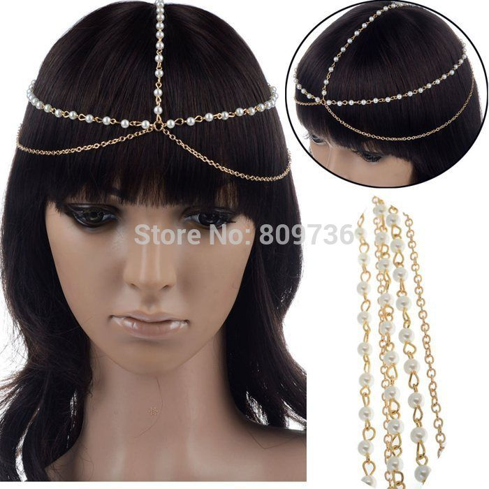 1PC-Europe-Hot-font-b-Boho-b-font-Women-Pearl-Beads-Golden-Layer-Tassel-Chain-Forehead.jpg (700×700)