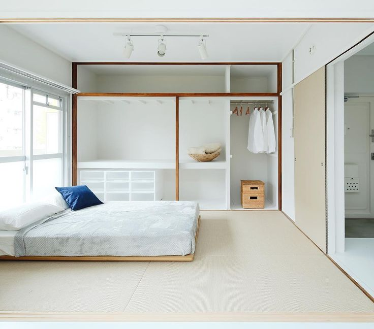 Japanese Closet Design For Bunk Room Sewing
