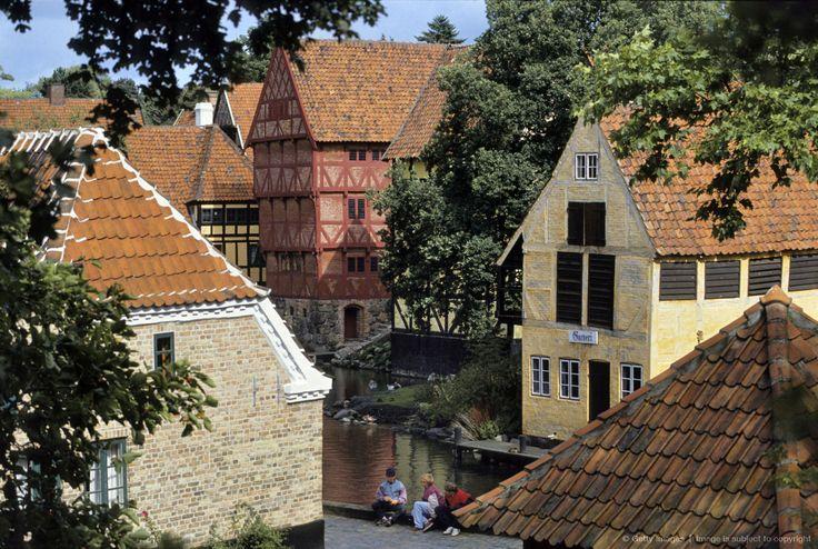 Denmark, Jutland, Aarhus, The Old Town