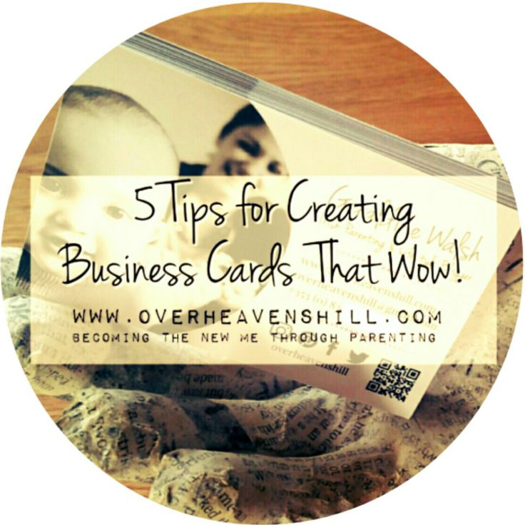 The quality of your business cards are a reflection on you as a blogger & a big little advertisement for your blog. Tips for a business card that wows