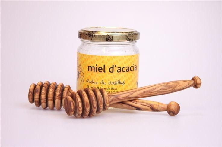 Eierbecher - Honiglöffel aus Olivenholz - ein Designerstück von Olivenholzprodukte-com bei DaWanda
