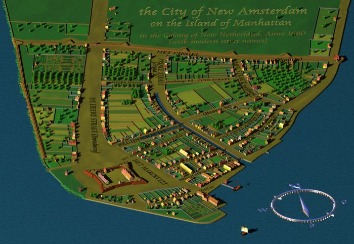 new amsterdam in 1660 wall street was once uptown new