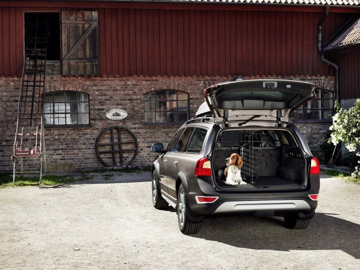 The #Volvo #XC70 isn't just for grocery hauling. . .