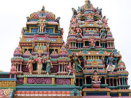 Temple hindou - Île Maurice