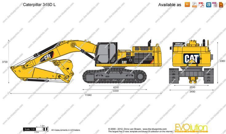 Caterpillar 797B Truck blueprint Taxonomias Pinterest Heavy - fresh blueprint diazo paper