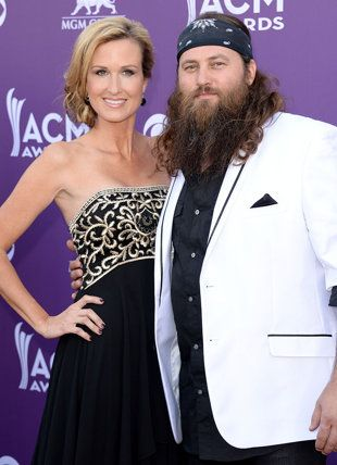"Love stories behind the Duck Dynasty couples.. LOVE the quote ""One man, one wife, for one life"" from Kay's grandmother."