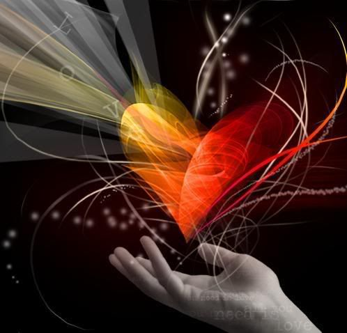 Ethereal: Life, Hands, Colors, Heart Shape, Pictures, Image, Valentine, Photo, Inspiration Quotes