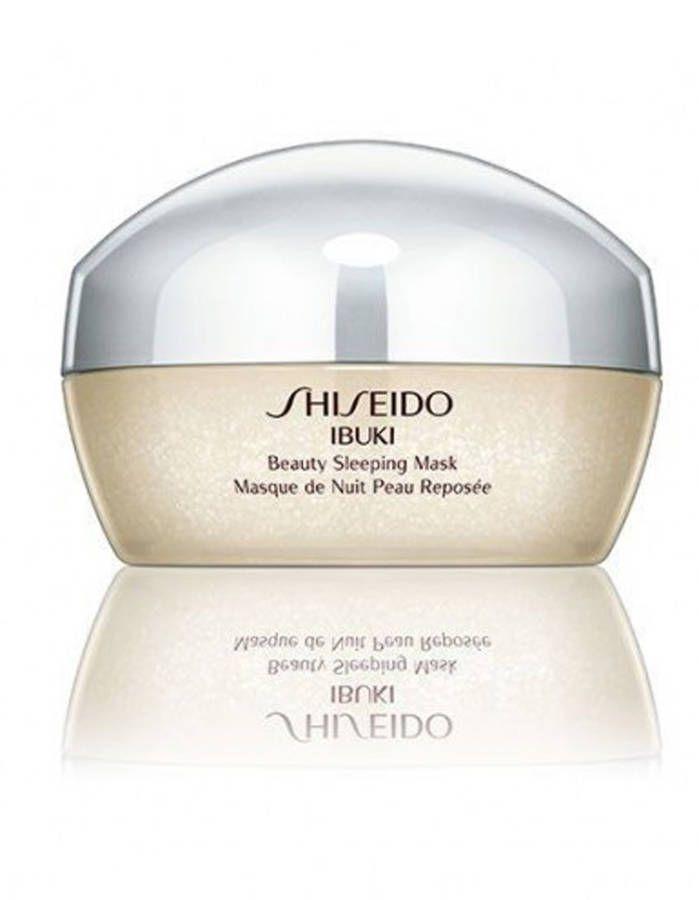 A Little Goes a Long Way! Beauty Sleeping mask Ibuki, Shiseido.