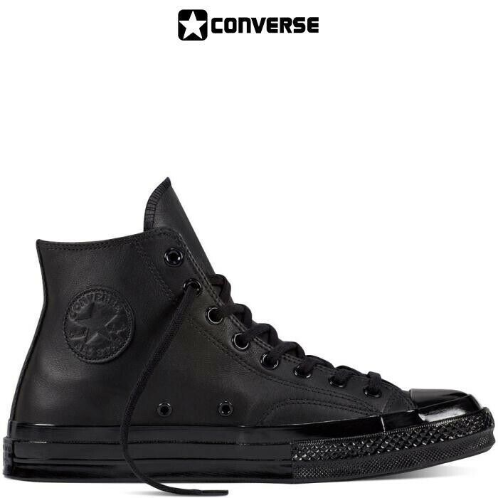 converse leather donna
