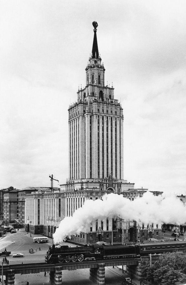 Наум Грановский #moscow #ussr #rerto #russia #architecture