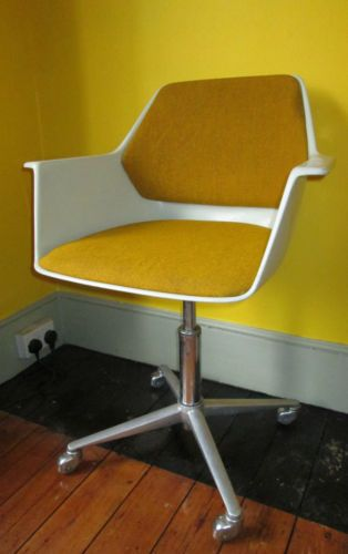 Vintage Wilkhahn Mid Century Desk Chair Retro Swivel Chair