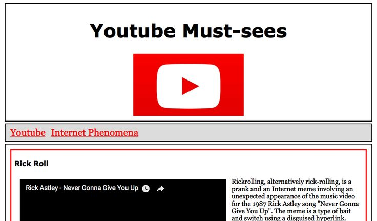Christine's Youtube Portal