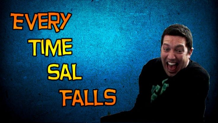 Sal falls down almost as much as I do while laughing!  We are truly laughing soulmates