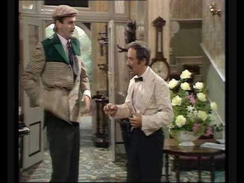 Fawlty Towers: Basil versus Manuel. John Cleese and Andrew Sachs at their best! John Cleese is simply genius!! Formidable and bone tickling laughter!