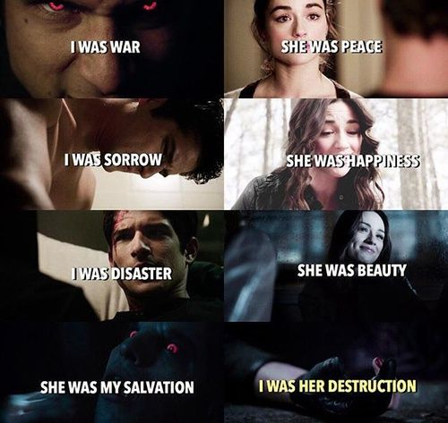 teen wolf, scott mccall, and allison argent image this is kinda heartbreaking