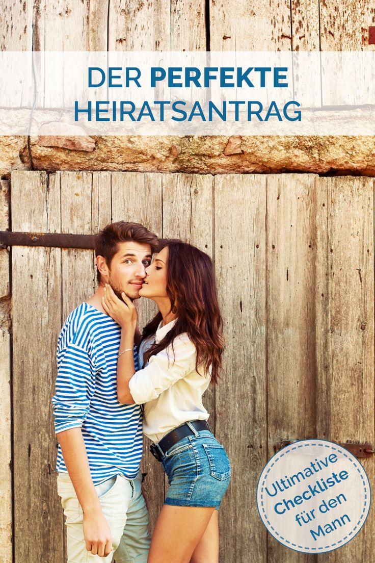Ultimative Checkliste - So macht der Mann den perfekten Heiratsantrag