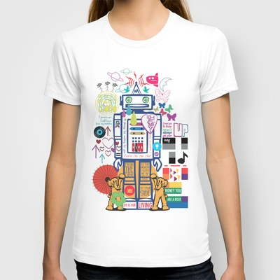 Coldplay shirt, omg it's the robot from the Talk music video! I actually have this one thanks to @Cathie Whiteside :)