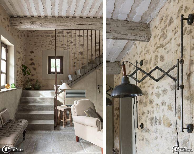 91 best escaliers images on Pinterest Banisters, Interior stairs - enduit pour mur interieur