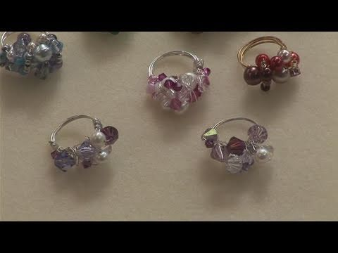 Looking for a instructional video on How To Create Beaded Rings? This extremely helpful instructional video explains exactly how it's done, and will help you get good at jewellery making. Enjoy this guide from the world's most comprehensive library of free factual video content online.
