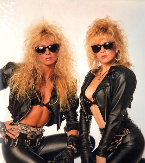 Emi and Donna-Nasty Habits | Motley Crue | Pinterest