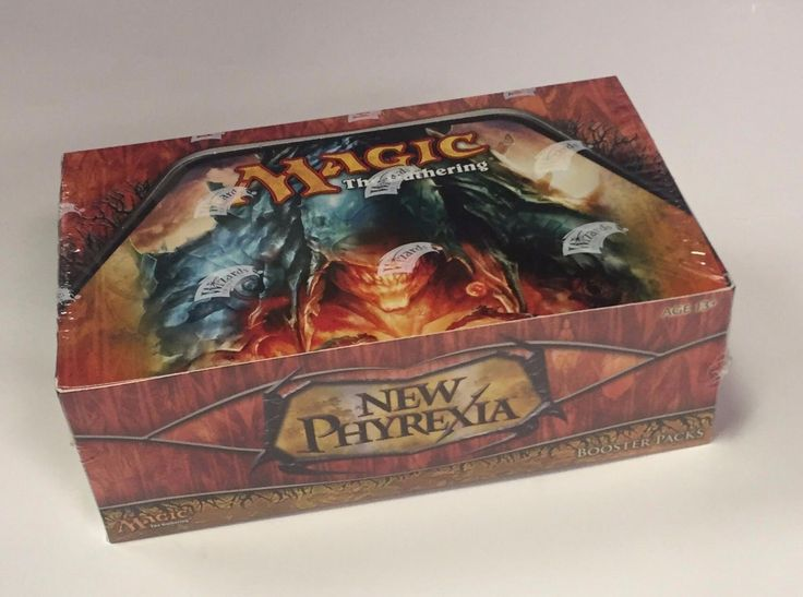 MTG Sealed Booster Packs 19109: Mtg Magic New Phyrexia Booster Box Sealed New The Gathering English -> BUY IT NOW ONLY: $364.89 on eBay!