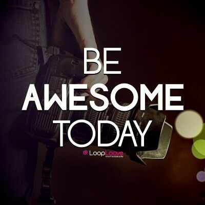 Morning Universe! Its Monday!   Beberapa bilang monday is money day.. beberapa lagi bilang monday is monster day, kmu yg mana?   Apapun itu.. just keep rock n roll yes! And dont forget to be AWESOME today!