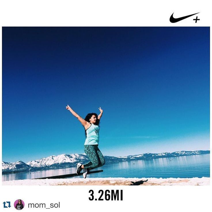 #Repost @mom_sol with @repostapp.  BE productive with YO SELF I wish running views were like this on the daily  #keeptahoeblue by inspiringwomenrunners