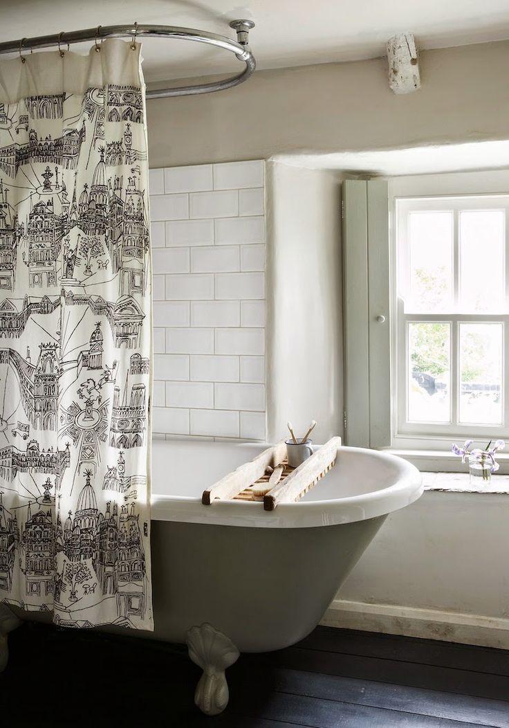 17 meilleures id es propos de rideaux de fen tre de - Rideaux de salle de bain ...