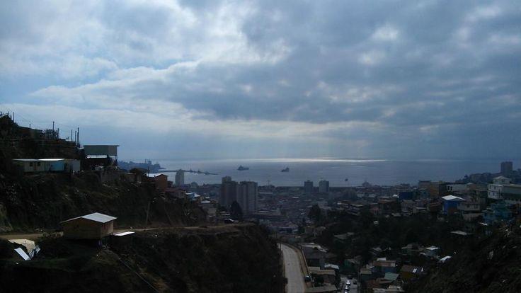 Bahía de Valparaíso (2014), chile.