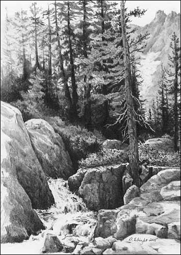 17 Best Landscape Drawings Images On Pinterest