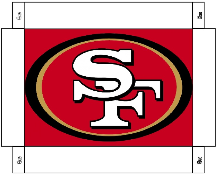 1000 Images About San Francisco 49ers Printables On Pinterest