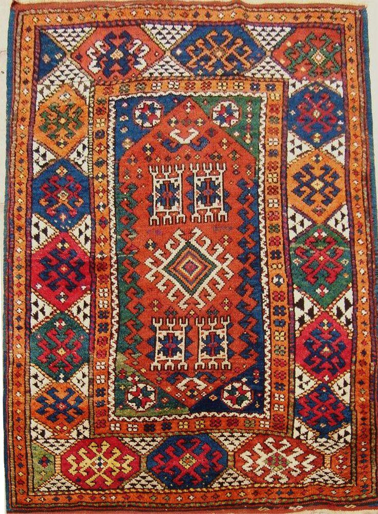 1anatolian karakecili  rug  1890 circa  copy