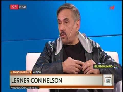Alejandro Lerner en el programa El Juego Limpio con el Doctor Nelson Castro Abril 2017 - YouTube