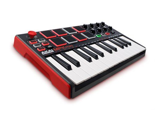 Akai Professional MPK Mini MKII 25-Key Ultra-Portable USB MIDI Drum Pad and Keyboard Controller with Joystick Akai Professional http://www.amazon.com/dp/B00IJ6QAO2/ref=cm_sw_r_pi_dp_i7Itwb1YYT8CH