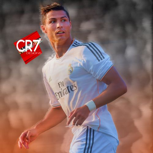 Cristiano Ronaldo in Real Madrid Design, made by CR7 Designs