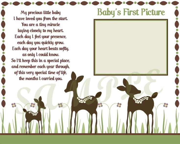 Willow+Deer+Baby+Ultrasound+Print++8x10+by+CreatinVitations,+$5.00