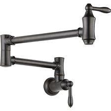 Delta Faucets Victorian Pot Filler Wall Faucet, Venetian Bronze   1177LF-RB