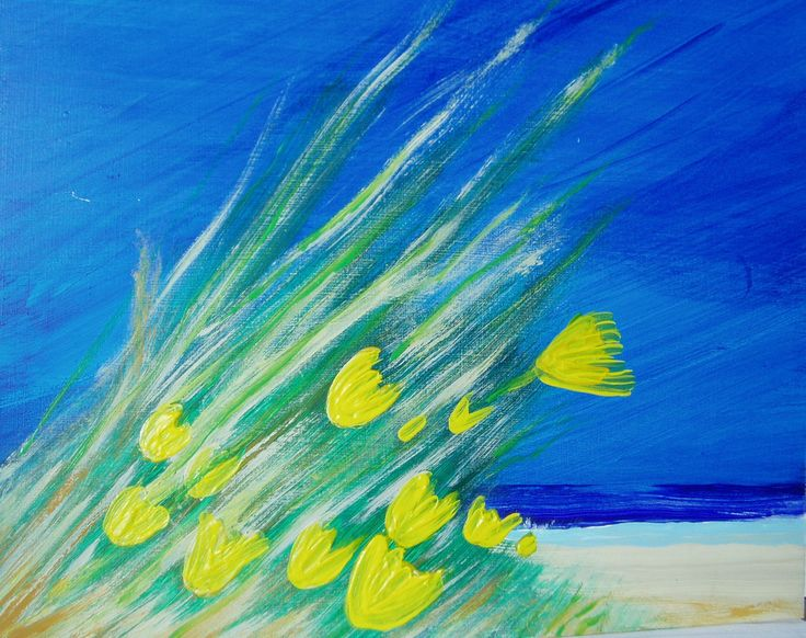 Strandblumen