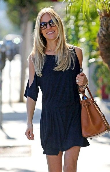 love the length + layering of Kristin's hair