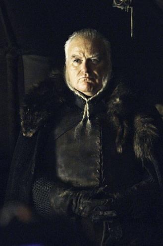Ser Rodrik Cassel, trusted and seasoned warrior. Loyal to House Stark.