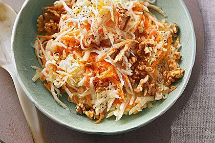 Karotten - Sellerie - Apfel - Salat, ein leckeres Rezept aus der Kategorie INFORM-Empfehlung. Bewertungen: 43. Durchschnitt: Ø 4,2.