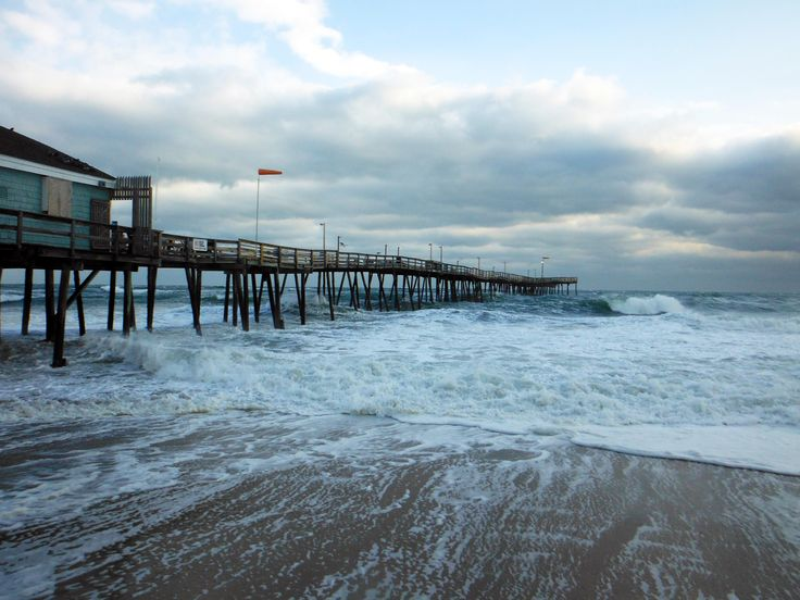 17 best images about piers on pinterest winter storm for North myrtle beach fishing pier