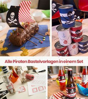 You want to celebrate the ultimate pirate birthday? We'll show you lots of great ideas, instructions, recipes and tricks. Ahoy pirate!