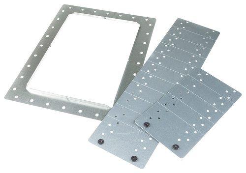 MartinLogan - Rough-In Speaker Brackets for MartinLogan ML-66i In-Wall Speakers (2-Pack) - Metallic (Grey)