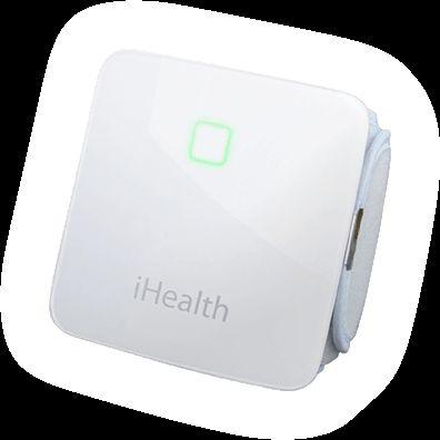 Dispozitiv iHealth™ Wireless pentru Monitorizarea Tensiunii Arteriale la încheietura mâinii (BP7). Tensiunea arterială este acum mai ușor și mai interesant de testat cu ajutorul dispozitivului Wireless BP7. Dispozitivul se atașează ușor la încheietura mâinii și folosește un senzor de mișcare pentru a asigura o citire cât mai precisă.