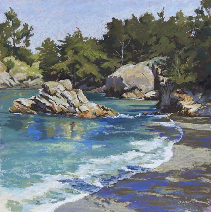 Whaler's Cove by Sarah   St George - Sorrel Sky Gallery